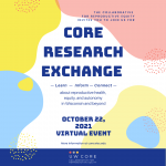 CORE Research save the date Oct. 22